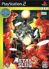 Used PS2 Metal Slug 5 SNK SONY PLAYSTATION 2 JAPAN