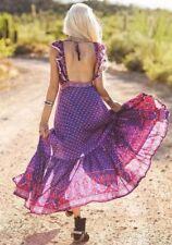 Spell Designs Sunset Road Frill Dress- Small