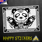 VANS Off the Wall Grizzly Bear Luggage Skateboard Car Vinyl Decal Sticker