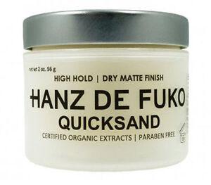 Hanz De Fuko Quicksand 2 oz NEW FAST FREE SHIPPING