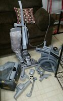 KIRBY ULTIMATE G SERIES VACUUM CLEANER W/HOSE SHAMPOO SYSTEM & ATTACHMENTS WORKS