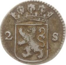Niederlande, Provinz Holland, 2 Stuiver 1728