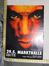 Rock Roll Concert Poster Tricky Angels with Dirty Faces German