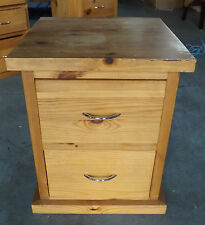 Handmade Solid Wood Bedside Tables & Cabinets