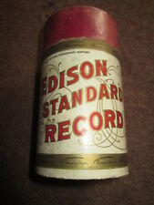 EDISON CYLINDER PHONOGRAPH RECORD MAY I BE ALLOWED TO SUGGEST #14016 A. OSMOND
