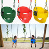 Playground Full Bucket Swing Seat w/ Chain Outdoor Play For Kid Toddler Backyard