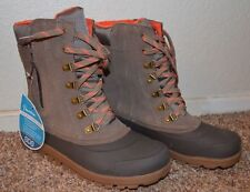 NEW ~ BareTraps  Women Ankle Boots / Size 7 m  / BROWN WATERPROOF / SDS System