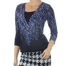 Per Una 3/4 Sleeve Waist Length Floral Women's Tops & Shirts