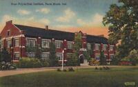 Postcard Rose Polytechnic Institute Terre Haute IN