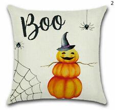 Хэллоуин диван декор ведьма замок льняной диванная подушка чехол поясной чехол на подушку