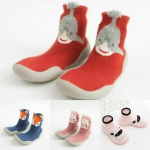 Baby Shoes Infant Toddler Sock Shoes Anti Slip Boys Girls Indoor Floor Shoes New