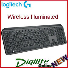 Logitech MX Keys Wireless Illuminated Keyboard - Black (920-009418)