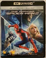 THE AMAZING SPIDER-MAN 2 4K ULTRA HD BLU RAY 2 DISC SET FREE WORLD WIDE SHIPPING