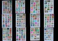 World Stamp Collection Austria Switzerland Luxembourg Spain & United States