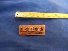 "STAR TREK PIN BADGE, ""DUSSELDORF STAR TREK WORLD TOUR 1998"" 1"