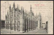 AX0706 Milano - Duomo - Cartolina postale - Postcard