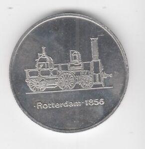 Médaille DDR Train Reichsbahn Direktion Hall Rotterdam 1856