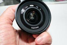 New listing Samyang 12mm f/2.0 Ultra Wide Angle Lens for Fujifilm Fuji X Cameras