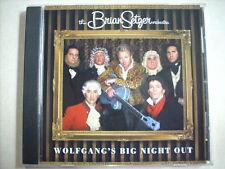 BRIAN SETZER ORCHESTRA WOLFGANG'S BIG NIGHT OUT PROMO ADVANCE CD STRAY CATS RARE
