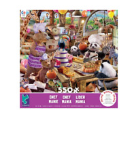 STORY MANIA - CHEF MANIA COLLAGE - 550 PIECE JIGSAW PUZZLE - BRAND NEW - 2441-3