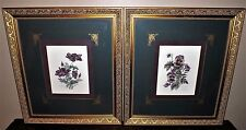 2 Matching Signed & Numbered A. Renee Dollar Exceptionally Framed & Matted