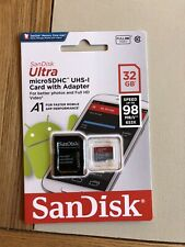 SanDisk Ultra MicroSDHC UHS-1 Card With Adapter