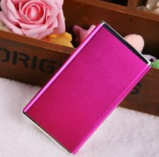 5600mAh Portable External Battery USB Power Bank for Cell Phone Hot Pink