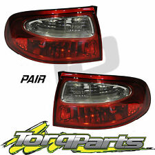 TAILLIGHTS PAIR SUIT HOLDEN COMMODORE VX NO REFLECTOR EXECUTIVE ACCLAIM TAILLAMP