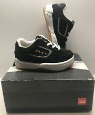 Toddler/Baby Vans Maverick Skate Shoes Sz. 5t Black/Cheddar NEW NIB Vintage