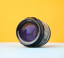 Nikon Nikkor 105mm f2.5 P Auto lens in good condition (AI Converted)