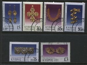 Cyprus 2000 various 6 values 15 cents to £3 used