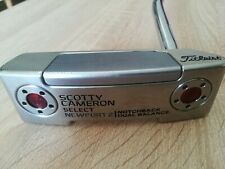 """SCOTTY CAMERON SELECT NEWPORT 2 DUAL BALANCE 38"""" PUTTER    RIGHT HAND + Cover"""