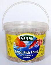 Bucket of Pond Fish Food Goldfish Koi Orfe 3000ml 3 Litre Bucket