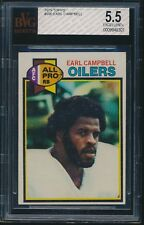 1979 Topps rookie #390 Earl Campbell rc BVG 5.5 EX+ bgs