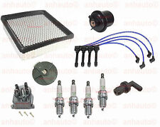 Complete Tune Up Kit Filters,Cap,Rotor, Wires & Plugs Honda CRV 1999 to 2001