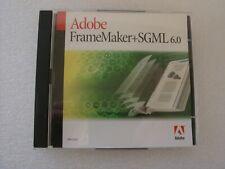 Adobe FrameMaker+ SGML 6.0