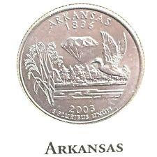 US State Commemorative Quarter Dollar Series, 2003-D ARKANSAS 1836, Ex-Fine RARE