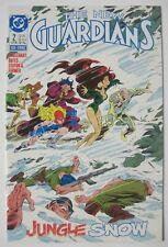THE NEW GUARDIANS #2 DC COMICS 1988 1ST APPEARANCE SNOW FLAME COCAINE VILLAIN