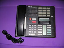 Norstar Telephone M7310 NT8B20AF-03 Office Phone Black Push Buttons Landline