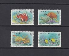 FISH/MARINE- Tuvalu - 1988 set of 4- (SC 465-8)-MNH-A226