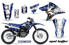 Decal Graphics Kit MX Wrap + Number Plates For Yamaha TTR230 2005-2018 MAD W U