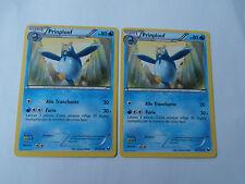 Carte Pokemon Prinplouf 80 pv Noir et Blanc Explorateurs Obscurs x 2