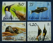 FALKLAND 2014 Pinguine Vögel Seelöwe Sea Lion Penguins Fisch Fish Poisson ** MNH
