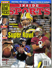 1998 (Feb.), Inside Sports, Football, magazine, Bret Favre, Green Bay Packers NL