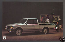 1979 1980 NISSAN DATSUN PICK UP TRUCKS Original Dealer Postcard