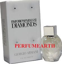EMPORIO DIAMONDS MINI 0.17 OZ EDP SPLASH FOR WOMEN BY GIORGIO ARMANI NEW IN BOX
