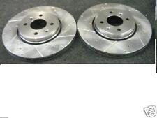 TOYOTA STARLET GLANZA EP82 EP91 TURBO CROSS DRILLED GROOVED BRAKE DISC FRONT