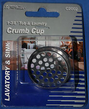 """1 3/8"""" CRUMB CUP FOR TUB AND LAUNDRY APPLICATIONS"""