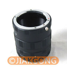Macro Extension Tube Ring For NIKON Ai AF DSLR & SLR