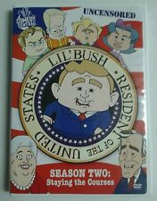 Lil Bush Resident of the United States Season 2 DVD Set OOP Rare Comedy Central